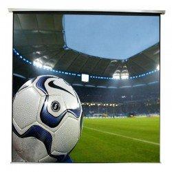Pantalla de proyeccion electrica approx appp200e 200 x 200 - apta pared y techo - mando a distancia