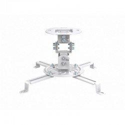 Soporte de techo para proyector fonestar spr-547b - hasta 13.5kg - inclinable/orientable - blanco