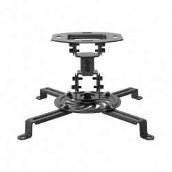 Soporte de techo para proyector fonestar spr-547n - orientable - inclinable - peso max. soportado 13.4kg - negro