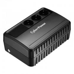 Sai línea interactiva cyberpower bu650e - 650va/360w - salidas 3*schuko - formato bloque