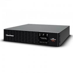 Sai línea interactiva cyberpower pr1500ert2u - 1500va/1500w - salidas 10*iec c13 - panel lcd - rs232 - formato armario/torre -