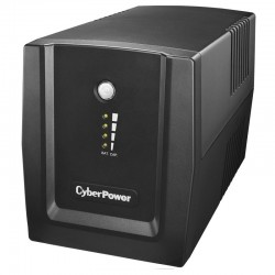 Sai línea interactiva cyberpower ut 2200e - 2200va/1320w - salidas 4*schuko - protección rj11/rj45 -  formato torre