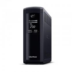 Sai línea interactiva cyberpower vp1200elcd-de - 1200va/720w - salidas 5*schuko - formato torre