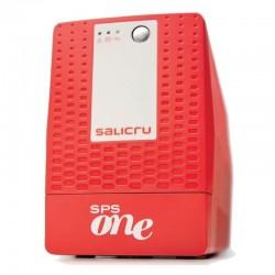 Sai línea interactiva salicru sps.1100.one v2 - 1100va / 600w - estabilización boost & buck - autonomía hasta 20 minutos -