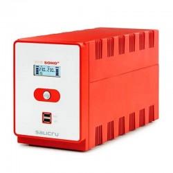 Sai línea interactiva salicru sps 1200 soho+ iec - 1200va/720w - 6*iec - doble cargador usb 5v/2a - formato torre
