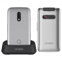 Teléfono móvil alcatel 30.26 metallic silver - pantalla 2.8'/7.1cm qvga - 128mb ram - 256mb rom - microsd - bt - linterna -