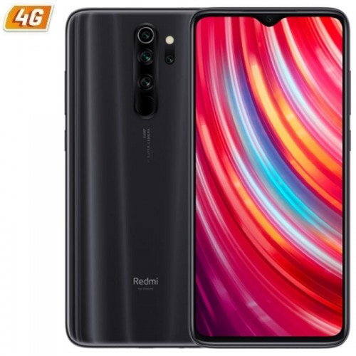 Smartphone móvil xiaomi redmi note 8 pro gris mineral - 6.53'/16.58cm - mediatek g90t - 6gb ram - 128gb - cam (64+8+2+2)/20 mp