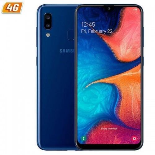 Smartphone móvil samsung galaxy a20e blue  - 5.8'/14.7cm - cam (13+5)mp/8mp - oc (1.6ghz+1.35ghz) - 32gb - 3gb ram - android -