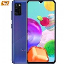 Smartphone móvil samsung galaxy a41 blue - 6.1'/15.4cm - cam (48+8+5)/25mp - oc (2ghz+1.7ghz) - 64gb - 4gb ram - android - 4g -