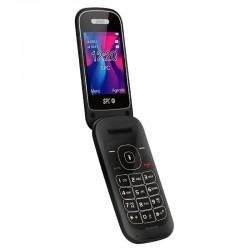 Teléfono móvil spc velvet negro - pantalla 2.4'/6.09cm 320*240 - dual sim - bt - radio fm - cámara - linterna - agenda 500