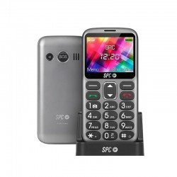 Teléfono móvil senior spc fortune - números/teclas grandes - manos libres - dual sim - fm - bt - 5 números sos - bat. 1000mah +