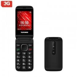 Teléfono móvil libre telefunken tm 360 cosi - pantalla 7.1cm - 3g - teclas whatsapp/facebook - cam 2mp - microsd - android -
