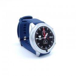 Reloj inteligente innjoo voom sport con correa color azul - pantalla 3.38cm - salud - notificaciones - bat.230mah -