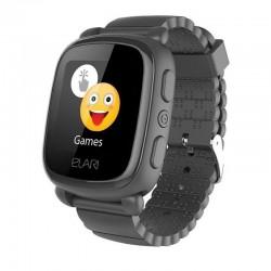 Reloj inteligente con localizador para niños elari kidphone 2 negro - pantalla táctil color - gps/lbs - comunicación