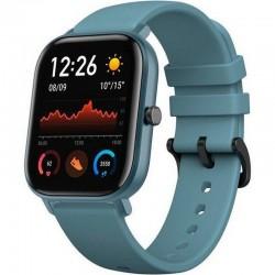 Reloj inteligente huami amazfit gts steel blue - pantalla 1.65'/4.19cm - bt 5.0 - sensor frecuencia cardiaca - gps -
