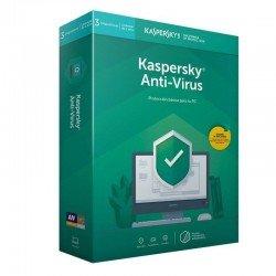 Antivirus kaspersky 2020 - 3 dispositivos - 1 año - no cd