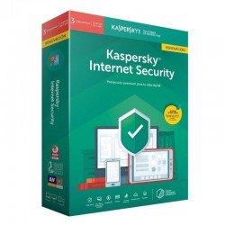 Antivirus kaspersky internet security 2020 - renovacion 3 dispositivos - 1 año - no cd