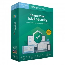 Antivirus kaspersky total security 2020 - 3 dispositivos - 1 año - no cd