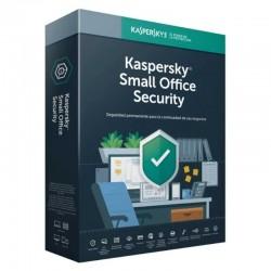Antivirus kaspersky small office security 7 - 5 dispositivos / 1 servidor - 1 año - no cd