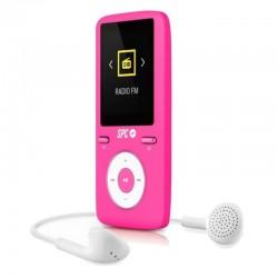 Reproductor mp4 spc pure sound colour 2 8488p - 8gb - 1.8'/4.57cm - fm - fotos - vídeo - grabación voz - ranura para tarjetas -