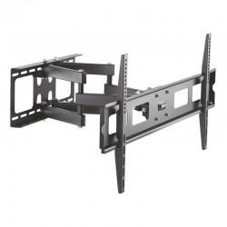Soporte de pared aisens wt70tsle-029 para pantallas 37-90'/94-228cm - hasta 60kg - giratorio / inclinable / nivelable - vesa