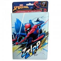 Funda universal lazerbuilt marvel spider-man - compatible con tablets 7-8'/17.78-20.3cm