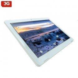 Tablet con 3g innjoo f104 white - qc mediatek 6582 - 1gb ram - 16gb - 10.1'/25.65cm - android 8 - cámara 0.3/2mpx - micro sd -