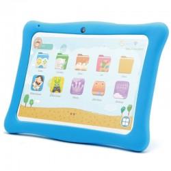Tablet infantil innjoo k102 blanca con marco protector azul - qc - 1gb ram - 16gb - 10'/25.4cm - android 8.1 go - bat 4000mah