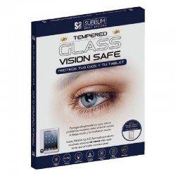 Protector de pantalla subblim sub-tg-2abl100 cristal templado bluelight para ipad 9.7 2018/17/pro 9.7/ ipad5 - dureza 9h+ -