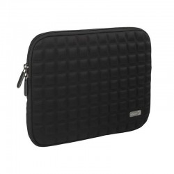 Funda vivanco 32356 negra para dispositivos hasta 10'/25.4cm - interior anti arañazos - diseño de burbujas