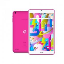 Tablet spc lightyear 8 rosa - qc a35 1.3ghz - 2gb ddr3 - 16gb - 8'/20.32cm ips hd - cam 2mpx- bt - micro sd - bat 3500mah -