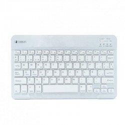 Teclado bluetooth subblim sm0001 smart bt silver - bt 3.0 - soft touch - bateria 420mah - compatible multidispositivo