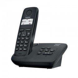 Teléfono dect gigaset al117a - agenda 50 registros - indentificacion llamadas - contestador 25 minutos