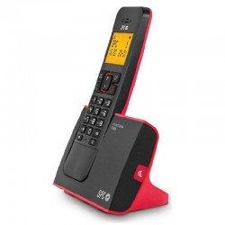 Teléfono inalámbrico dect spc blade 7290r - identificador de llamadas - manos libres - pantalla iluminada - agenda 50 nombres y