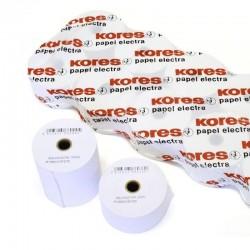 Pack 10 rollos papel electra kores 66621500 - 75*65*12 - 36.5m. - ø12mm - para impresión en offset