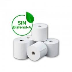 Rollos papel térmico 80*60mm - paquete de 8 unidades - libres de bisfenol a