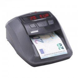 Detector de billetes ratio-tec soldi smart plus - para euros/libras/chf - detección ir | mg | bm | sd - display led y señal