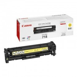 Toner amarillo canon 718a - 2900 páginas para impresoras i-sensys lbp7660cdn - lbp7200cdn