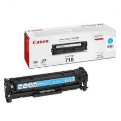 Toner cian canon 718c - 2900 páginas para impresoras i-sensys lbp7660cdn - lbp7200cdn