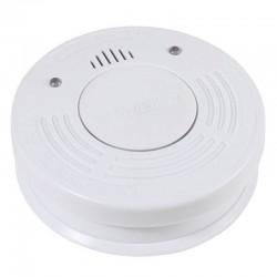 Alarma de humo vivanco 33509 blanca - función led / función silencio - batería litio larga duración - incluye material de