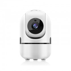 Cámara wifi de seguridad para interior muvit io mioacam002 - 1080p - rotación 360º - audio bidireccional - sensor imagen cmos