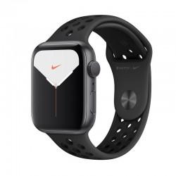 Apple watch nike series 5 gps 44mm caja aluminio gris espacial con correa antracita/negra nike depor