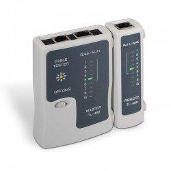 Tester aisens a142-0312 para cable rj11/rj12/rj45 - incluye funda protección