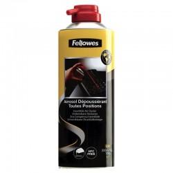 Spray de aire a presión fellowes 9974804 - 200ml - invertible - uso en múltiples posiciones y ángulos - libre de hfc /