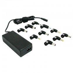 Cargador universal de portátil leotec - 70w - automático - voltaje salida 15-20v - 10 conectores