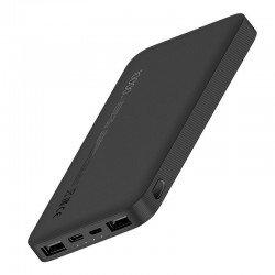 Batería externa xiaomi 10000mah redmi power bank black - 37wh - entrada micro-usb / usb tipo-c - salida 2*usb tipo a