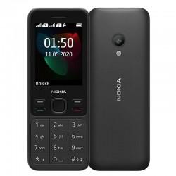 Teléfono móvil nokia 150 (2020) negro - display 2.4'/6cm - cámara vga - dual sim - slot microsd (hasta 32gb) - radio fm -