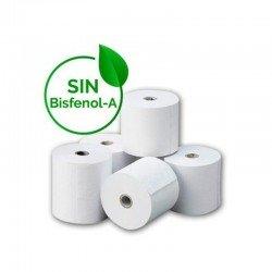 Rollos papel térmico 80*80mm - paquete de 8 unidades - libres de bisfenol a