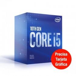 Procesador intel core i5-10400f - 2.90ghz - 6 núcleos - socket lga1200 10th gen - 12mb cache * sin gráfica integrada *