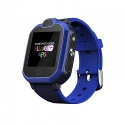 Reloj inteligente leotec allo 4g azul - pantalla táctil color 3.5cm - wifi - bt - gps real - videollamada - botón sos -